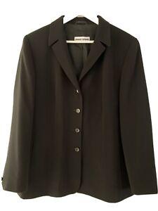 GERRY WEBER Blaser Jacket Jacke Gr. 44 Neu Schwarz Damen Elegant