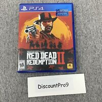 Red Dead Redemption 2 (PlayStation 4, PS4) Brand New Open Box