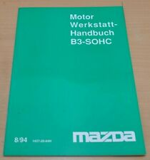 MAZDA Motor B3-SOHC Instandsetzung Schmierung Reparatur Werkstatthandbuch