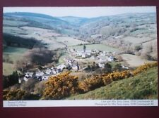 POSTCARD D6-2 DENBIGHSHIRE CYFFYLLIOG VILLAGE - GREAT VIEW