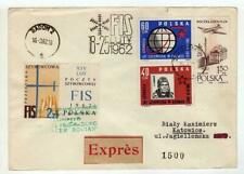 A1146) POLAND GLIDERS 1962 Expr Cover Zacopane Katowice