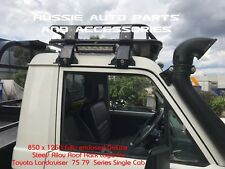 Steel Roof Rack Cage 850x1250mm for Toyota Land Cruiser 70 75 79 Series Ute Rack