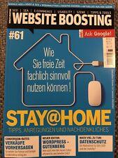 Website Boosting Magazin 🖥 # 61 🖥 Wordpress Cachen Neuwertig