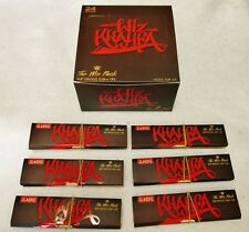 24X 1 Box WIZ KHALIFA RAW KING SIZE Slim Rolling Papers & Tips Limited Edition