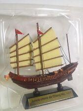 Junco chino de Cheng Ho 1405 BARCO VELERO MADERA navío Nautica