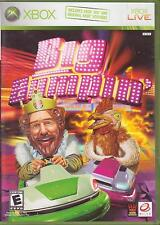 2 XBOX Games:  BURGER KING - POCKET BIKE RACER - BIG BUMPIN' Racing Bumper Cars