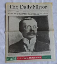 More details for the daily mirror 1910 - 1997 selection of healiners x 16 four pages of each