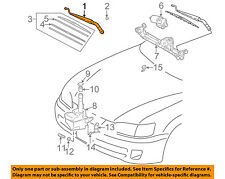 TOYOTA OEM 97-01 Camry Wiper Washer-Windshield-Wiper Arm Left 85221AA010