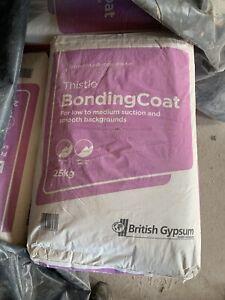 HUGE SALE! Gypsum Thistle Bonding Coat Plaster 25kg. Expiration Offer! Buy Now!