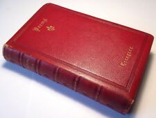 Tennyson Poems, Alfred Tennyson, 1874, Fine Red Gold Binding, 80+ Poems