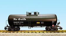 USA Trains G Scale 42 Foot Modern Tank Car R15268  Rio Grande - Black