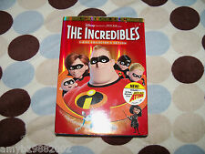 The Incredibles (Dvd, 2005, 2-Disc Set, Fullscreen Euc