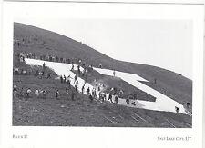 """+PC-Postcard-""""University of Utah's Block U"""" ...Salt Lake City, Utah (A65-1)"""