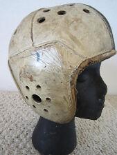 Vintage Football Player's Leather Helmet