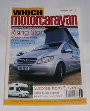 WHICH MOTORCARAVAN - RISING STAR - DECEMBER 2003