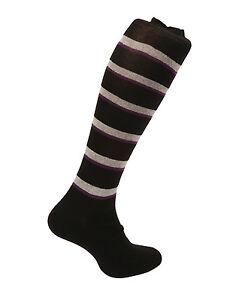 Men's Egyptian cotton socks.Striped Design.Grey / Black. Made in Italy.