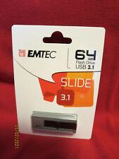 EMTEC 64GB USB 3.1 Flash Drive BRAND NEW FACTORY SEALED
