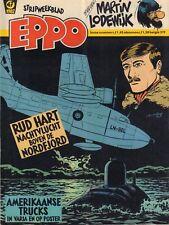 STRIPWEEKBLAD EPPO 1982 nr. 47 - RUD HART (COVER) / INTERVIEW MARTIN LODEWIJK