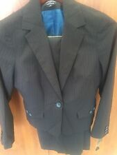 Woman's Pant Suit; SIGNATURE By LARRY LEVINE; Midnight/Sea; NWT; Sz 8 ($240).