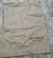 "SALVATORE FERRAGAMO Protective Drawstring Dust Bag 15"" x 12"""