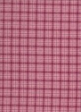 Red / Pink / White Check Cotton Fabric (115cm wide)