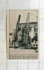 1923 Three Huge Cameras On Mount Wilson Observatory Photographic Eclipse