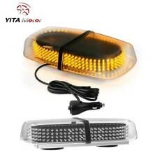 240 LED Emergency Strobe Light Amber Roof Top  Hazard Warning Flash Lamp 12V