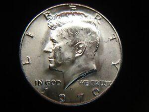 1970 D KENNEDY HALF DOLLAR- BU BEAUTY- 40% SILVER - FROSTY & NICE