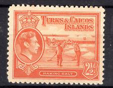 Turks & Caicos KGVI lmm 21/2d 1938-45  [T7809]