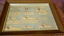 1979 Framed Peanuts Funny Pages Comic-Eudora