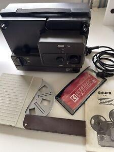 Bauer T 82 Filmprojektor Super 8 und 8 normal