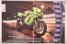 Kawasaki Ninja ZX-6R Motorcycle 2-Page PRINT AD - 2005