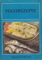 Fischrezepte, Verlag für die Frau 3. Auflage 1982/DDR-Kochbuch/schön erklärt!!!