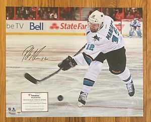 Patrick Marlowe Signed 16x20 Photo Autographed FANATICS COA San Jose Sharks