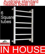 Heated Towel rail - 6bars-700HX450WX115Dmm