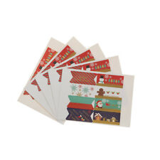 5sheets/ 40x Christmas Stickers XMAS Labels Seals Stickers Decoration Gift Hot
