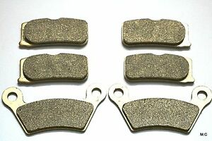 MC Front Rear Brake Pads For Can Am Spyder RT RS RS-S Roadster SE5 SM5 2008-2012