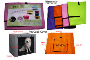 Ambaby Dog Crate Cover Pet Cage Kennel Cover Breathable Water Resistant Fit XS-L