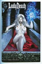 Lady Death Pin Ups #1 NAUGHTY Coffin Variant Mike Krome Cover Mad Monster Party