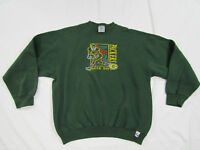 Vintage Green Bay Packers Mens XL Embroidered Sweatshirt Logo 7 Made in USA NFL
