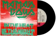"MAMA'S BOYS - IN THE HEAT OF THE NIGHT - RARE 7"" 45 VINYL RECORD PIC SLV 1983"