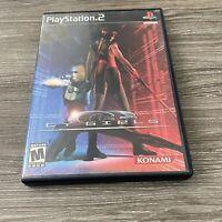 Cy Girls (Sony PlayStation 2, PS2, 2004) Complete Mint Discs Rare Konami