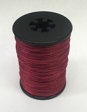 Red BCY Nock & Peep Bow String Serving Bowstring Nylon