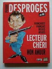 Pierre Desproges en BD - Collectif d'auteur - Préface de Gotlib - Jungle! - EO