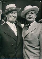Maurice Chevalier c.1955 - Chanteur Acteur Écrivain et Parolier - PR 970