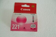 Canon 221 Magenta Ink Cartridge iP3600 MX980 MP560 9mL CLI-221M 2948B001AA NEW