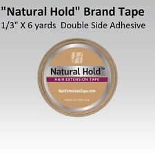 """Natural Hold Extension Tape by Walker Tape Co. 1/3""""X 6 yrd Double side Adhesive"""