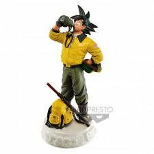 Dragonball SCultures Son Goku Navy color 18cm PVC figure Banpresto Limited