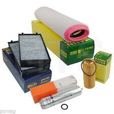 Inspektionspaket Filterset BMW X5 E70 3,0D 211PS 235PS  SCT MANN & MAHLE