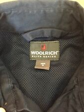 Woolrich Elite Tactical Vented SS Multi Pocket Shirt Sz Medium Dark Navy
